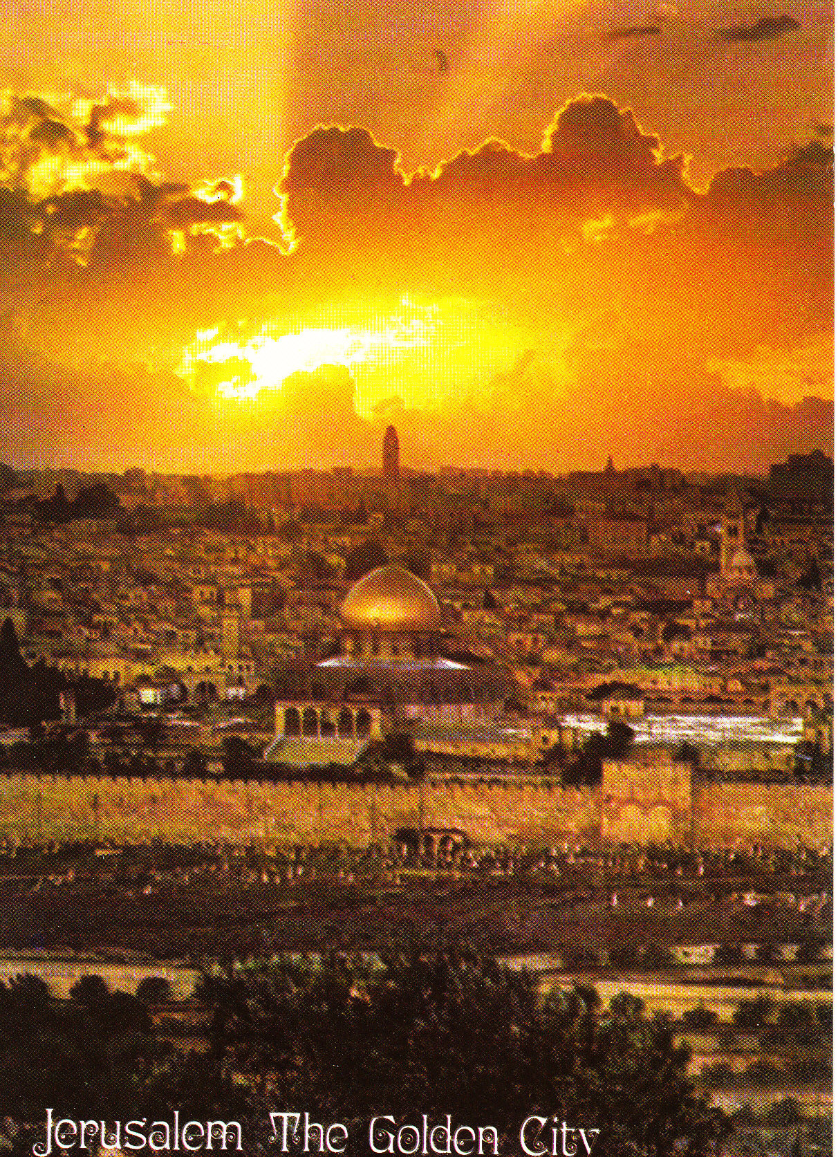 jerusalem the holy city of god  jerusalem, the city of the three faiths jerusalem founded in between 4500-3500 bce has become a center of the three major monotheistic faiths in the world.